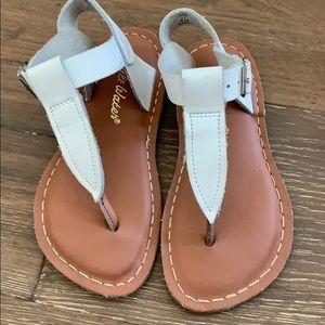 Girls size 13 Salt Water sandals
